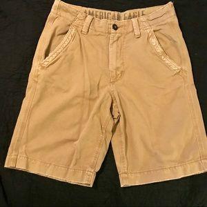 American Eagle Men's Khaki Shorts/ 32 waist